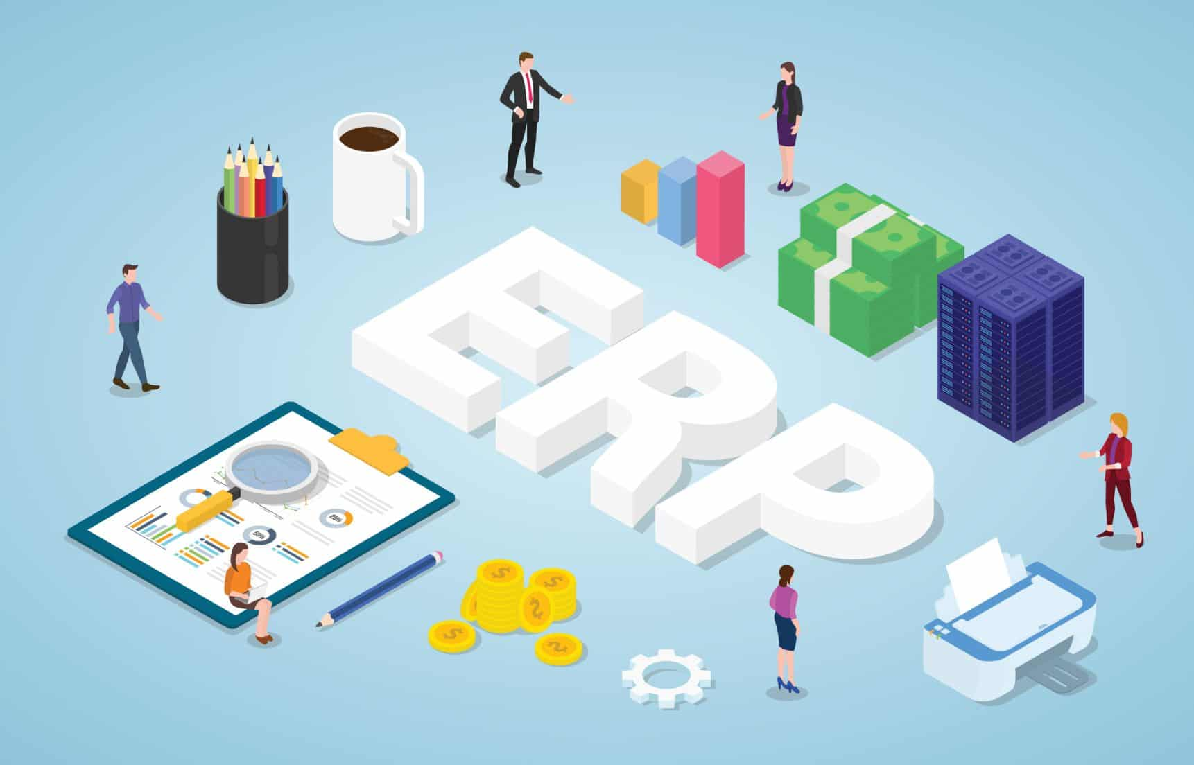 εγκατάσταση ERP συστήματος από την Business Elements