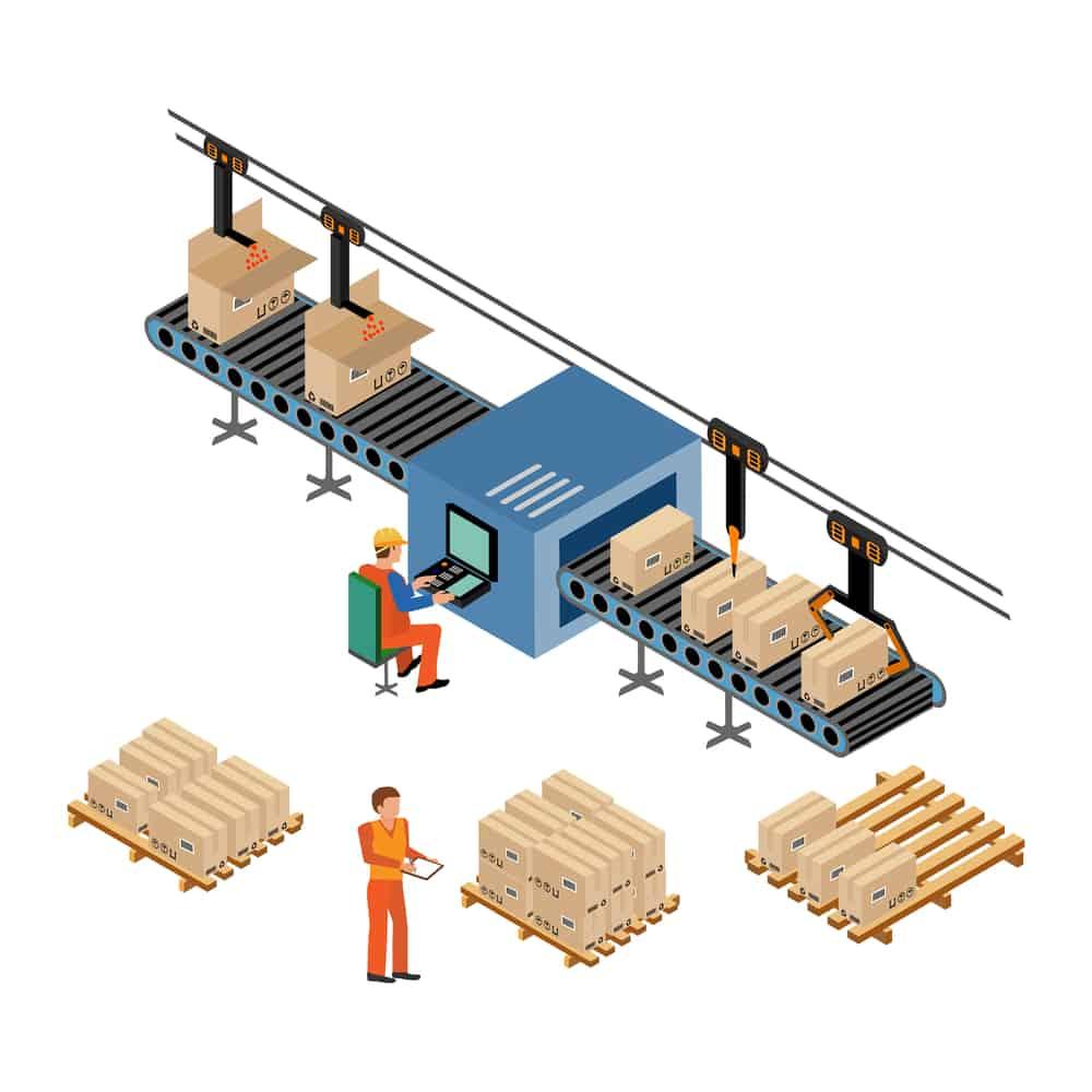production isometric